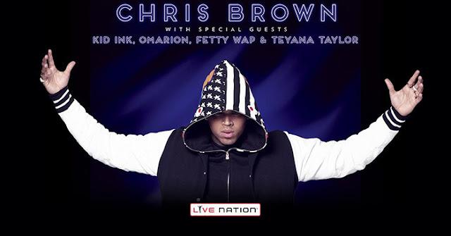 Chris Brown ft. Fetty Wap – Hell Of A Nite (Lyrics)