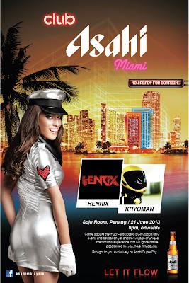 Club Asahi Miami @ Soju Room , Penang