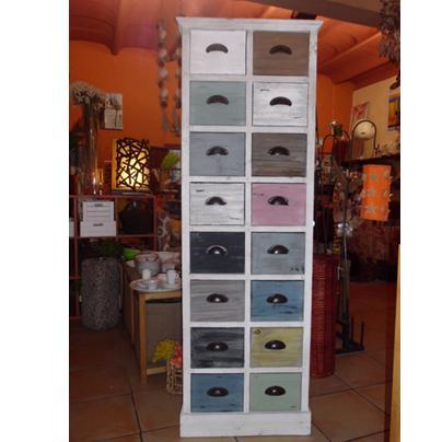 Popurri regalos decoraci n complementos muebles vintage cajoneras con color popurri palma de - Muebles en palma ...