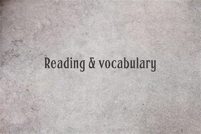 Đọc nhiều để biết thêm nhiều từ mới
