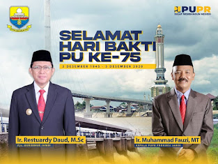 Hari Bakti PU Ke-75, Pjs Gubernur Jambi Ardy Daud Minta Fokuskan 3 Pembangunan Infrastruktur