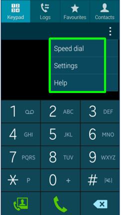 how to make an emergency call mini samsung s
