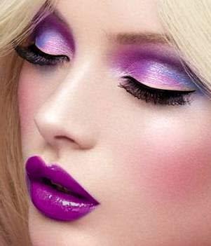 Maquiagem 3DRoxa