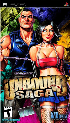 Free Download Unbound Saga PSP Game Cover Photo