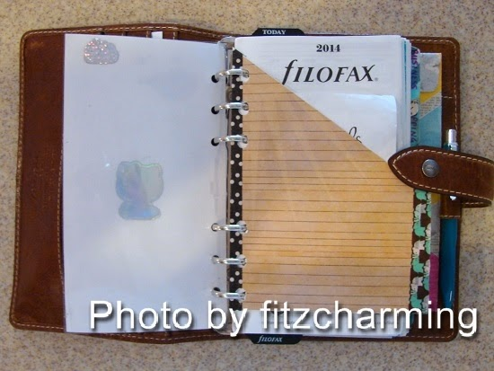 Filofax Coupon Holder