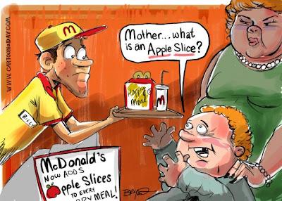 фастфуд McDonalds не для тех, кто собирается сесть на диету, но с умением использующий американскую улыбку