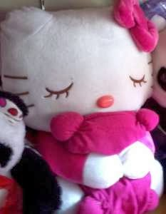 Boneka hello kitty sleep
