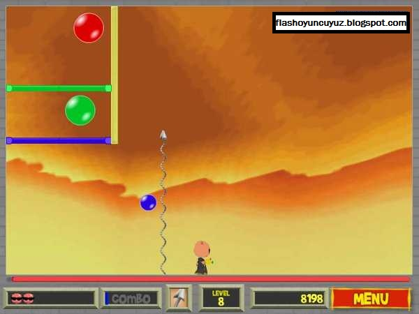 bubble trouble flash game download