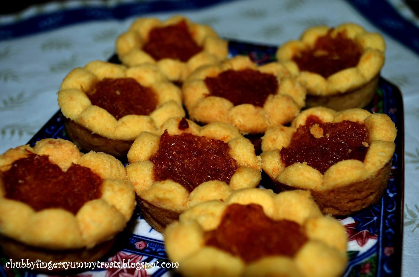 Traditional Pineapple Jam Tarts