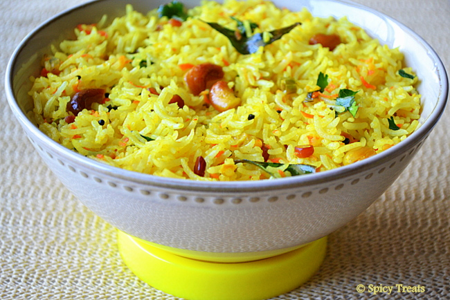 recipe lemon rice