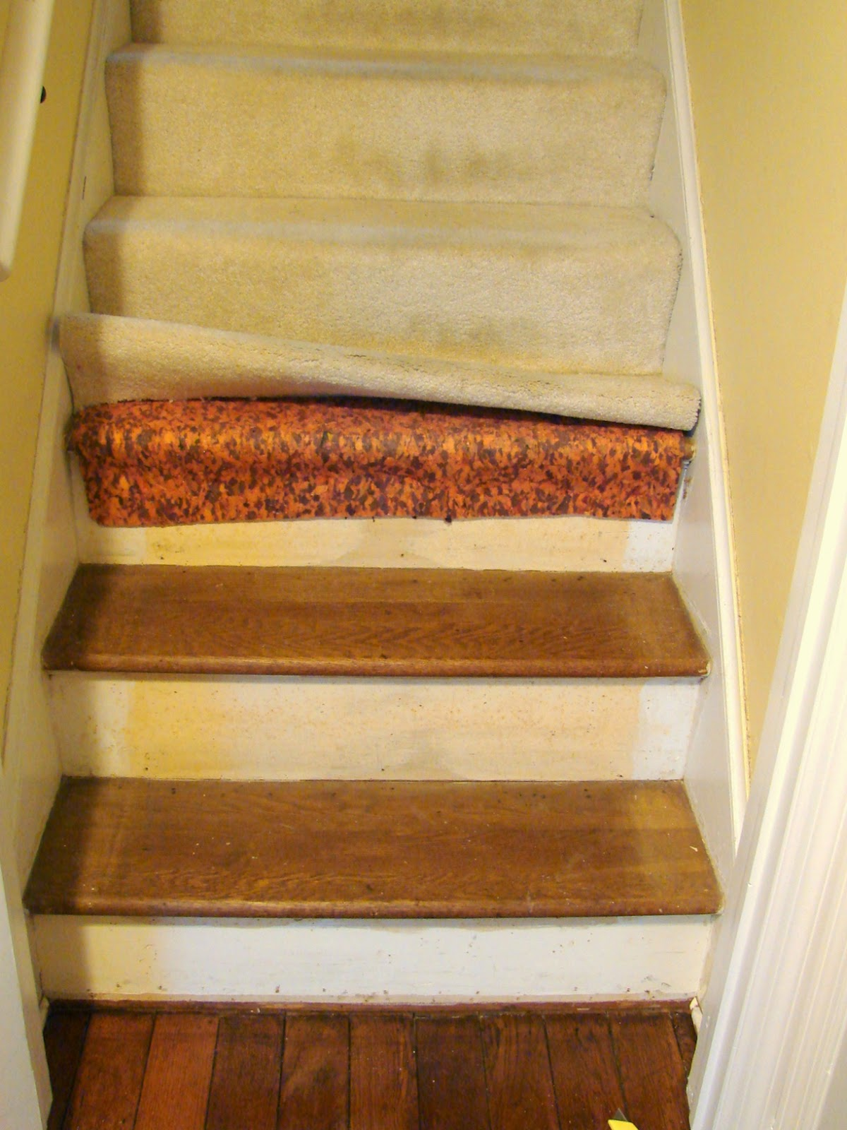 Project 2 ~ Refinishing The Stairs