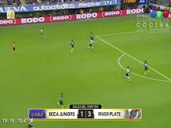 Video con el resumen de todos los goles del enorme triunfo de River en la Bombonera