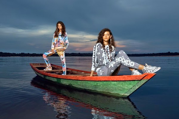 Farm e Adidas Originals terceira coleção jaqueta blusão calça leggin e tênis