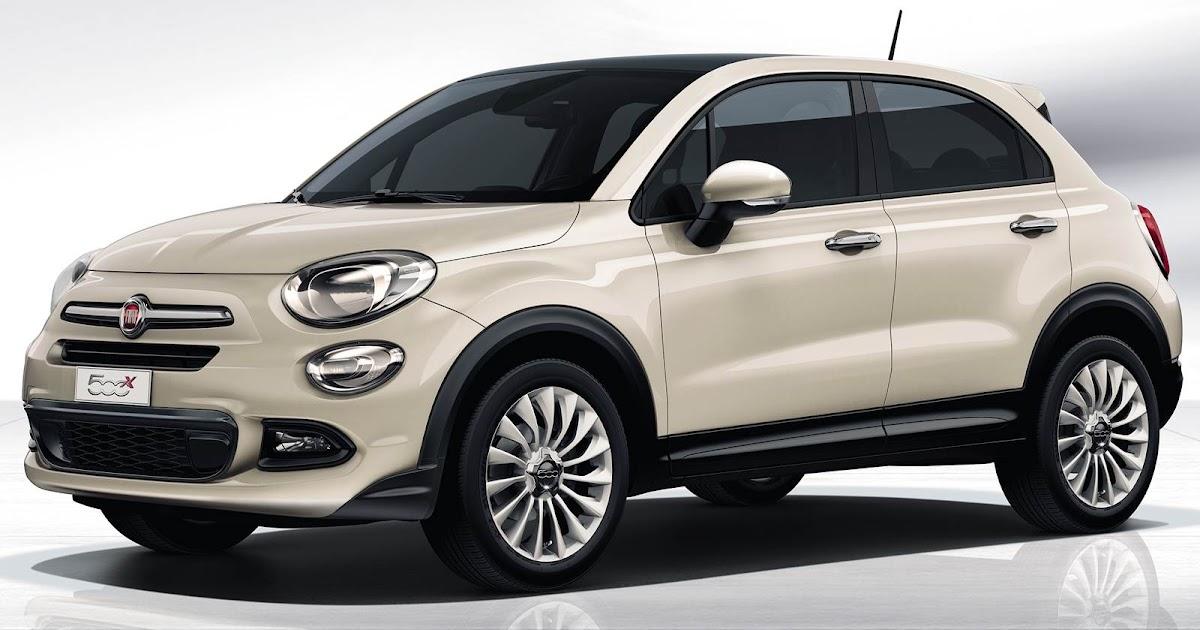 Novo Fiat 500X crossover: fotos e especificações oficiais