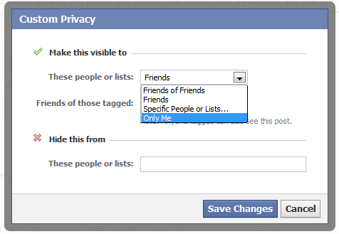 facebookプライバシー設定自分のみ公開:ESETセキュリティブログ