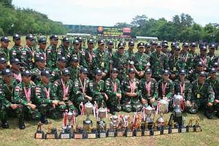 TNI Angkatan Darat menjadi juara umum Kejuaraan Tembak Angkatan Darat se-ASEAN (ASEAN Armies Rifle Meet/AARM)
