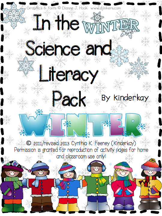 http://www.teacherspayteachers.com/Product/Winter-Science-and-Literacy-Packet-for-Little-Kids-172822