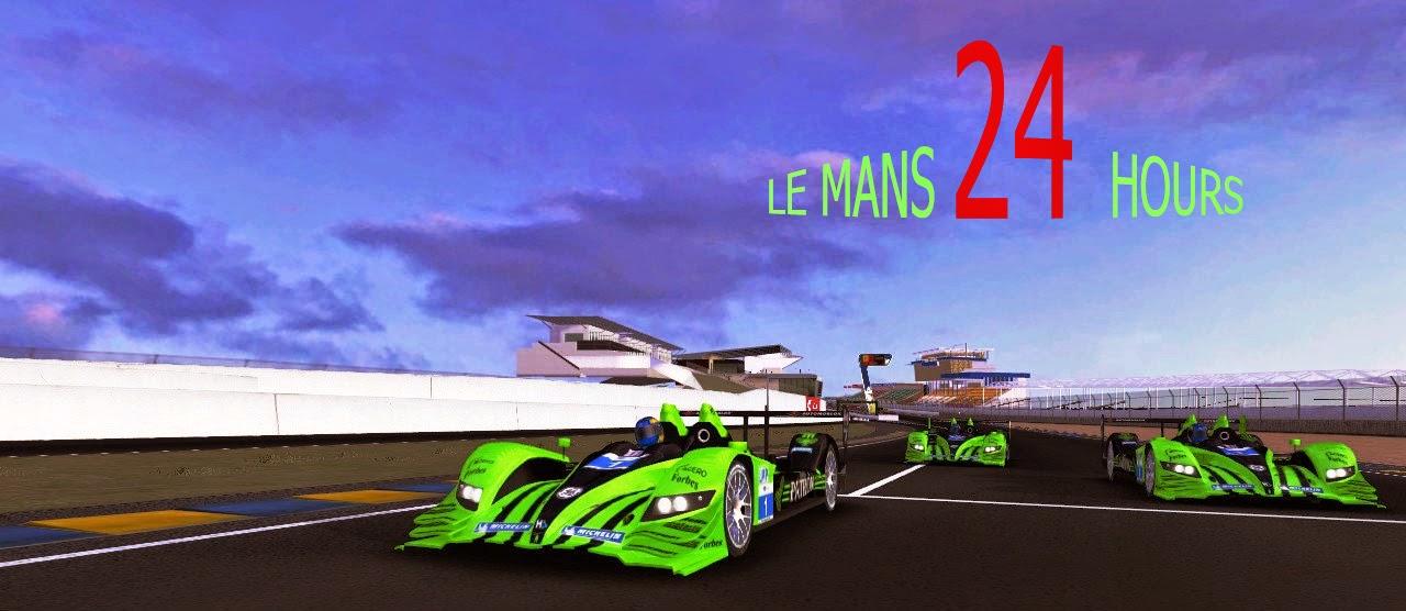 24hr Le Mans Testing