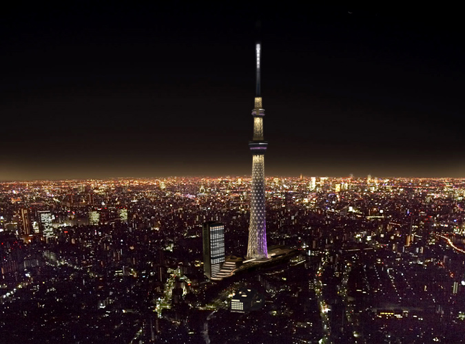 Splendour eye: Tokyo Sky Tree - The Tallest Tower in the ...
