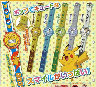 Pokemon Chara Watch NEXT BW Smile Collection TTA