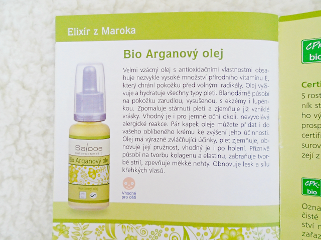 Saloos Bio Arganový olej