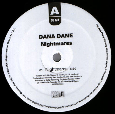 Dana Dane –  Nightmares (VLS) (1985) (VBR)