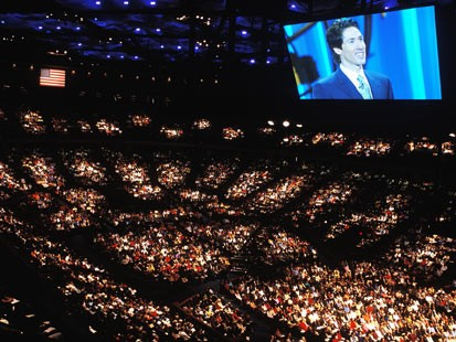 joel osteen church the abc news article noted that lakewood church has    Joel Osteen Church Capacity