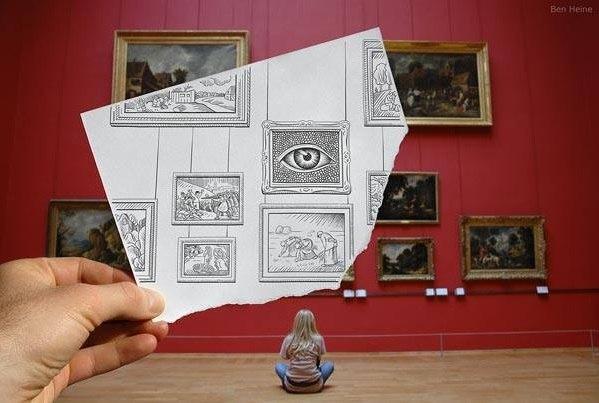 Lukisan Tangan Kreatif yang Menghasilkan