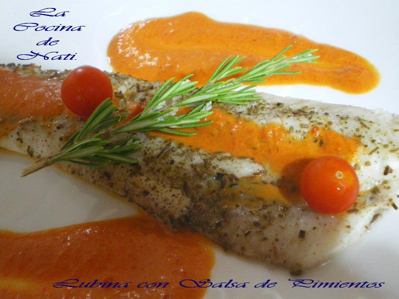 Pescado y marisco de la a a la z lubina con salsa de - Salsa para lubina a la sal ...