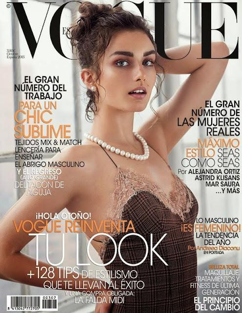 Revista Vogue octubre 2013