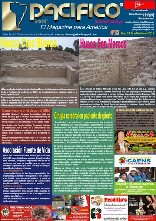 Revista Pacífico Nº 33 Arqueología