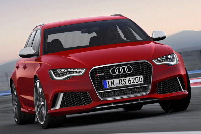 Meet the 2013 Audi RS6 Avant gassguzzler