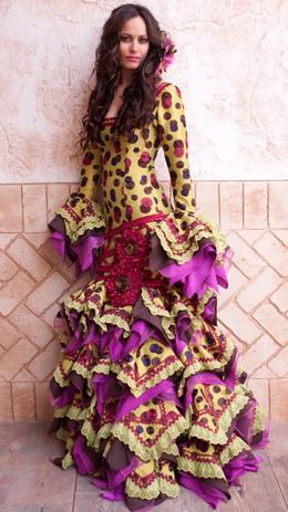 trajes de flamenca 2011