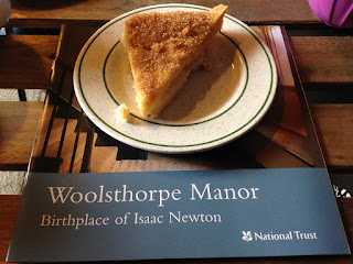 Woolsthorpe Manor apple shortcake