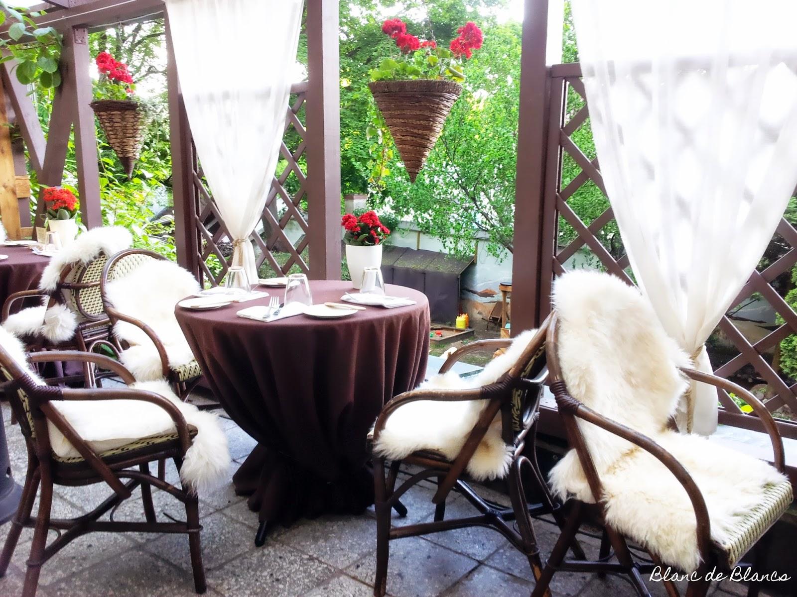 Ravintola Leibin kesäterassi Tallinnassa - www.blancdeblancs.fi