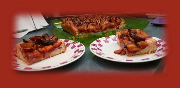 Une expat dans sa cuisine la tarte aux prunes allemande for Allez cuisine translation