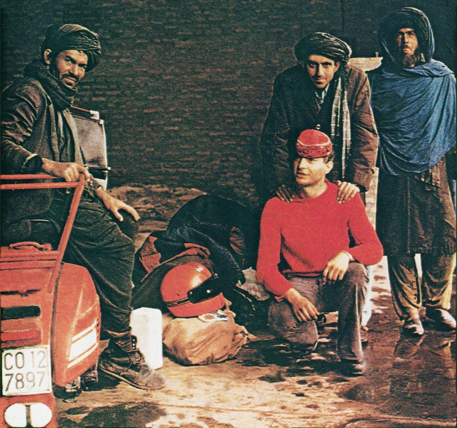 In Afghanistan con la Gigia, nell'aprile 1978.