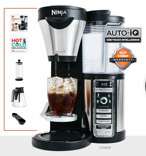 Ninja Coffee Maker Warranty : I Run For Wine: Ninja Coffee Bar Review