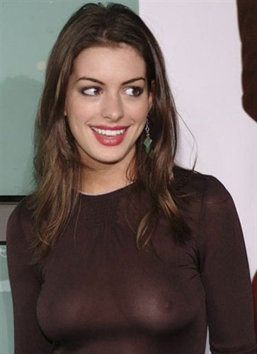 Anna Hathaway Boobs Sey Anne Nipple Slip
