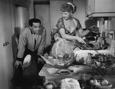 Lucy and Desi in The Long, Long Trailer... - I Love Lucy ...