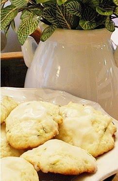 Lemon Zucchini Cookies