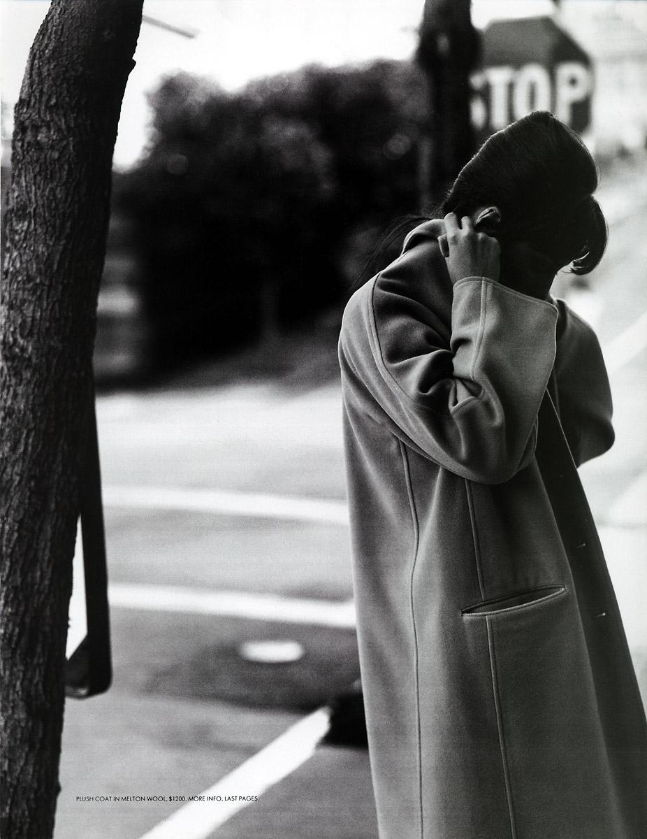 Christy Turlington in An urban attitude / Mirabella September 1994 (pohotography: Kurt Markus, styling: Polly Hamilton) via fashioned by love british fashion blog