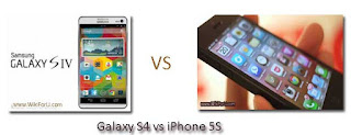 iPhone 5S vs Galaxy 4S