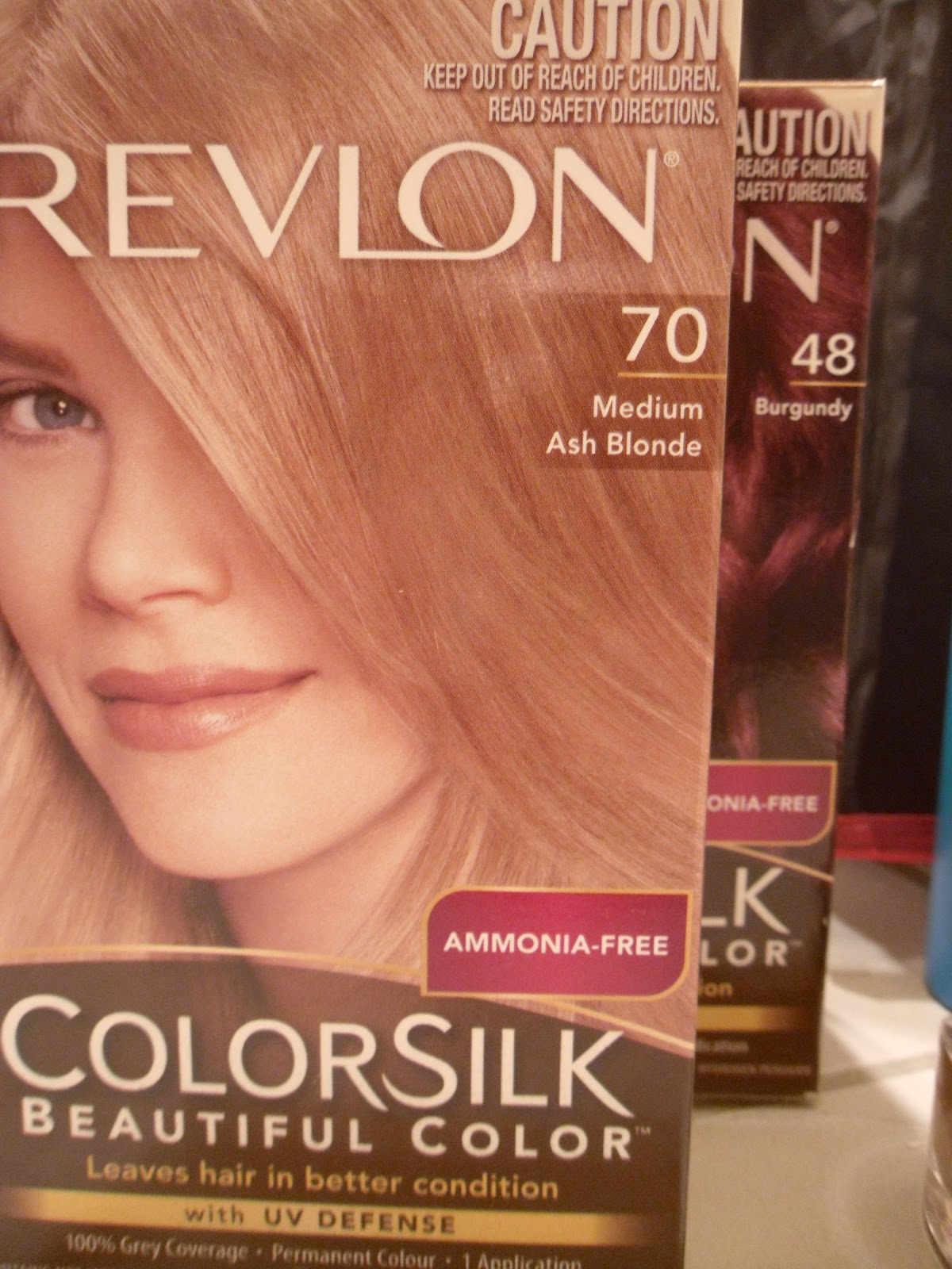 Revlon Colorsilk Honey Blonde Revlon colorsilk hair dye,