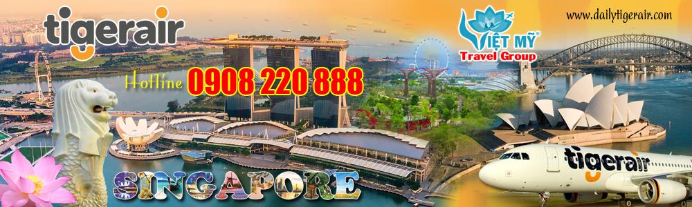 Đại lý Vé máy bay đi Singapore giá rẻ | TICKET OFFICE VIỆT MỸ