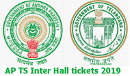 AP TS Intermediate Hall tickets 2019