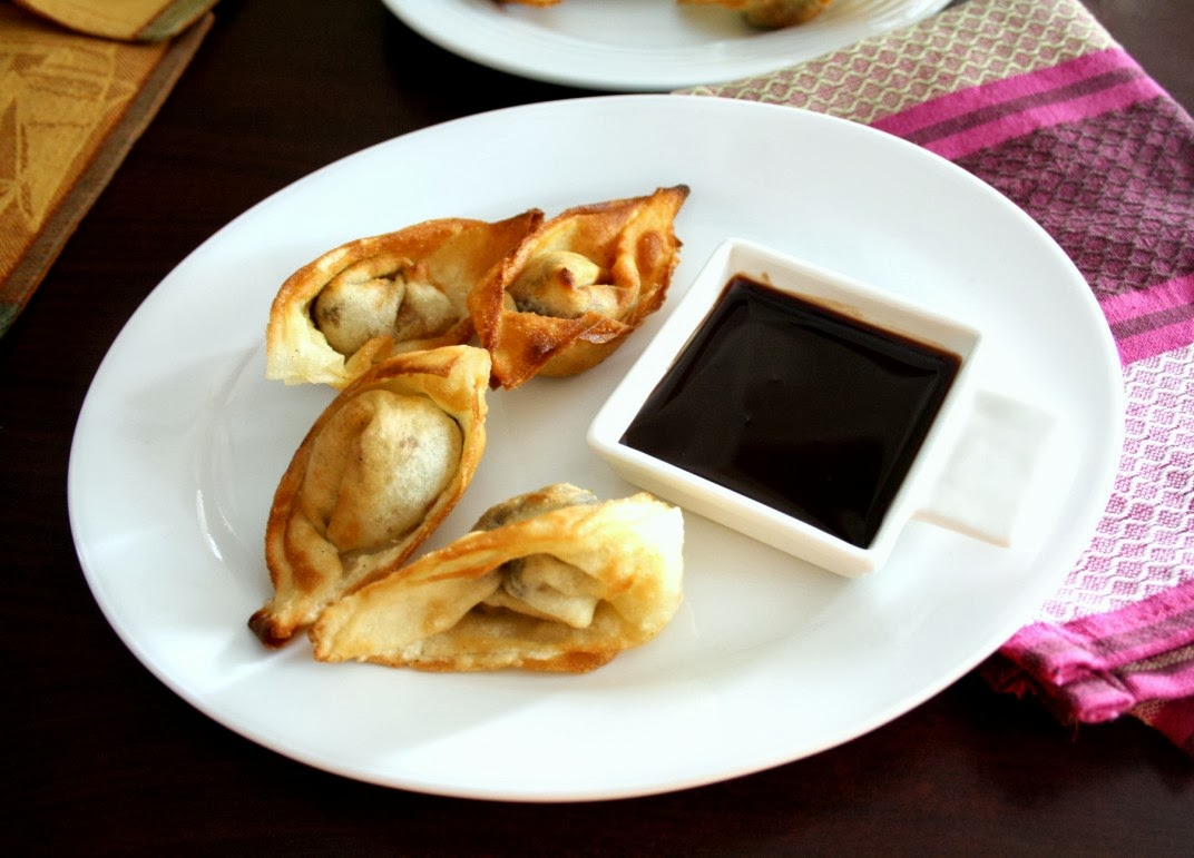 Spice your Life: W for Wonton | Savory Wontons, Chocolate Wontons