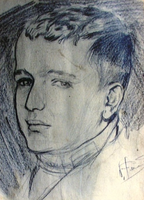 Retrato de Julio Stipicic.