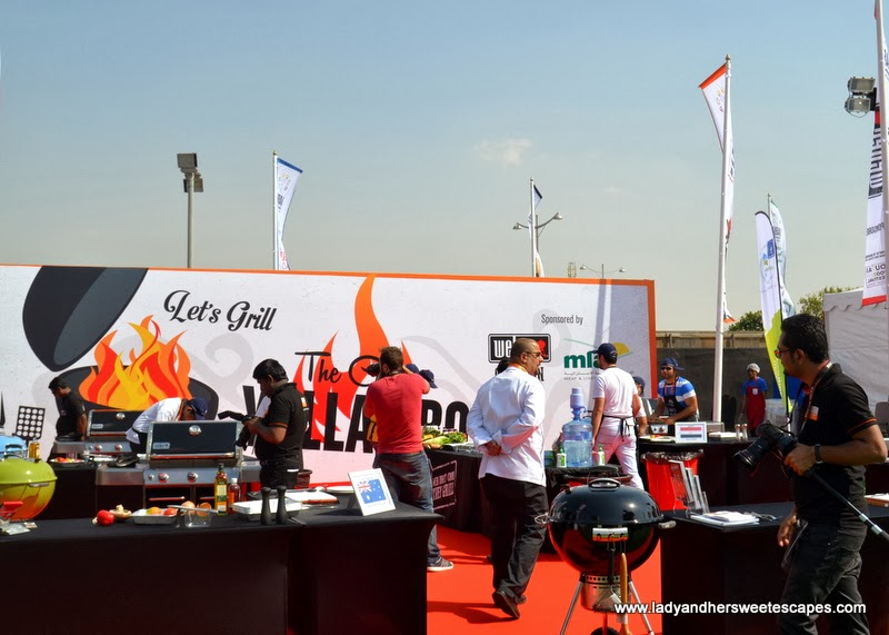 BBQ Cook-off at the Dubai Food Carnival