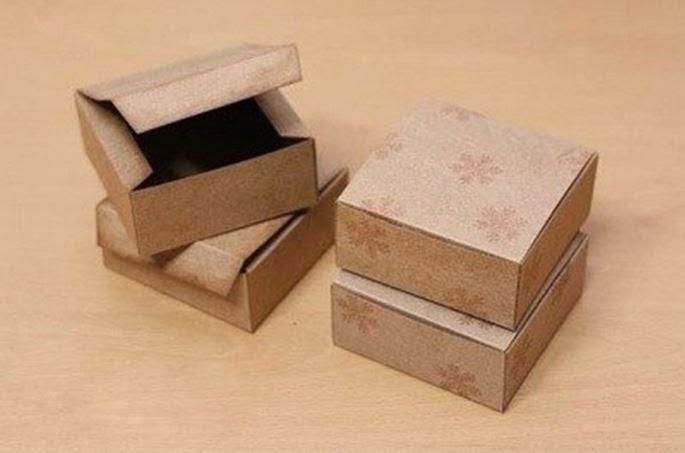 Сделать  коробка подарочная